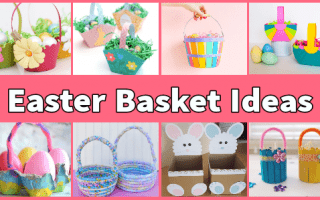15 Creative Easter Basket Craft Ideas