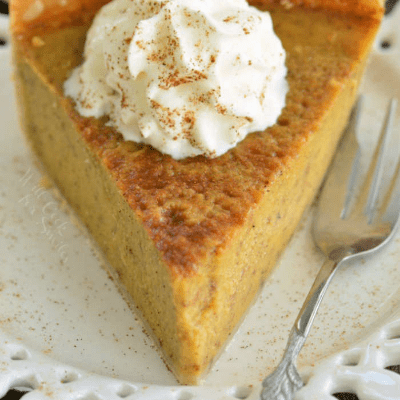 Greatest Pumpkin Pie Recipe