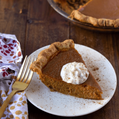 Maple Pumpkin Pie Recipe